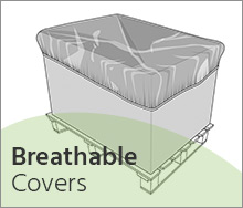Breathable covers