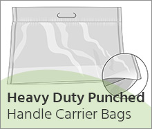 Heavy Duty Handle-Carrier-Bags