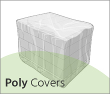 Poly covers for Pallets
