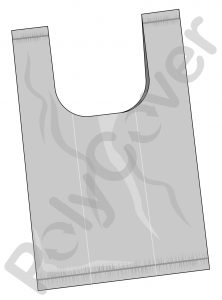 vest style plastic carrier bag