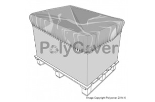 breathable pallet top cover