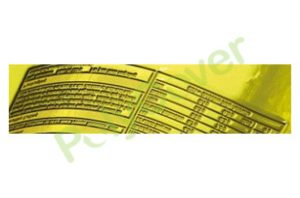 printed poly bag labelling